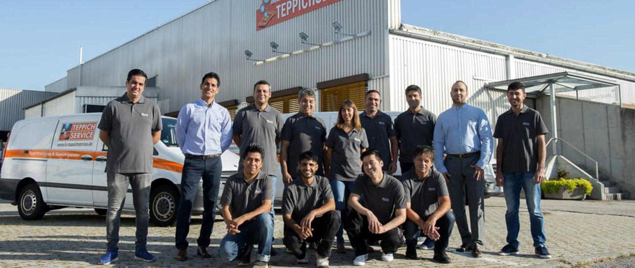 Teppichservice - Team